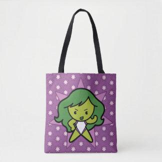 Kawaii She-Hulk Flex Tote Bag