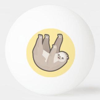 Kawaii Sloth Ping Pong Ball