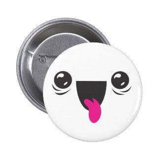 Kawaii Smiley Pin