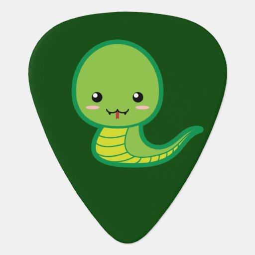 Kawaii Snake Guitar Pick