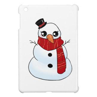 Kawaii Snowman iPad Mini Cover