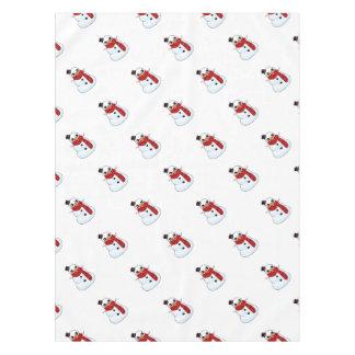 Kawaii Snowman Tablecloth