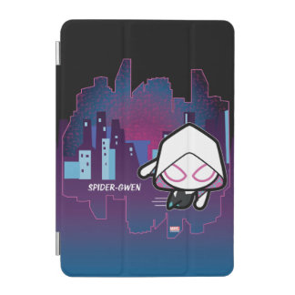Kawaii Spider-Gwen City Skyline iPad Mini Cover