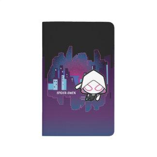 Kawaii Spider-Gwen City Skyline Journal