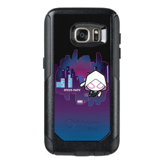Kawaii Spider-Gwen City Skyline OtterBox Samsung Galaxy S7 Case
