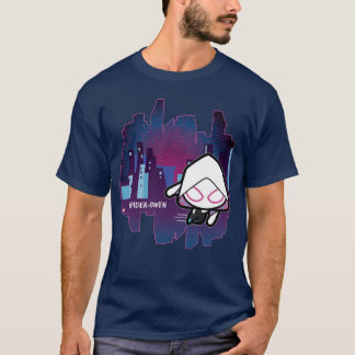 Kawaii Spider-Gwen City Skyline T-Shirt
