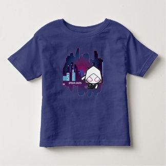 Kawaii Spider-Gwen City Skyline Toddler T-Shirt