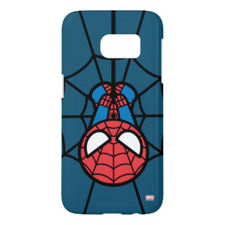 Kawaii Spider-Man Hanging Upside Down