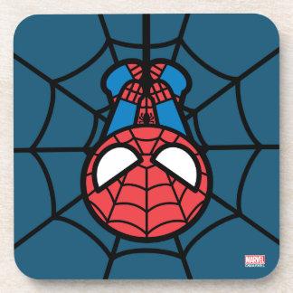 Kawaii Spider-Man Hanging Upside Down Coaster