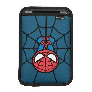 Kawaii Spider-Man Hanging Upside Down iPad Mini Sleeve