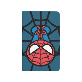 Kawaii Spider-Man Hanging Upside Down Journal