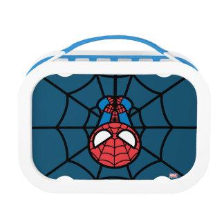 Kawaii Spider-Man Hanging Upside Down Lunch Box
