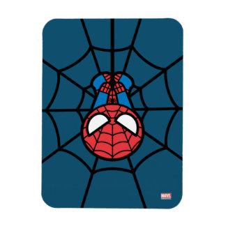 Kawaii Spider-Man Hanging Upside Down Magnet