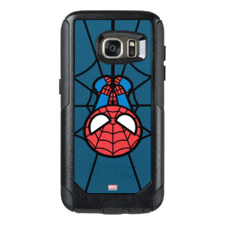 Kawaii Spider-Man Hanging Upside Down OtterBox Samsung Galaxy S7 Case