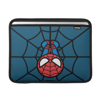 Kawaii Spider-Man Hanging Upside Down Sleeve For MacBook Air