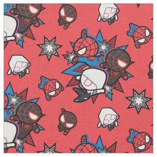 Kawaii Spider-Man, Spider-Gwen, & Miles Morales Fabric