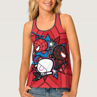 Kawaii Spider-Man, Spider-Gwen, & Miles Morales Singlet