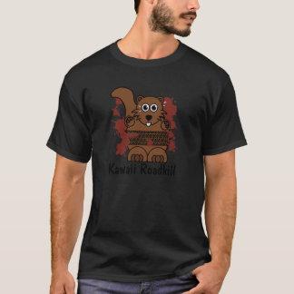 Kawaii Squirrel Roadkill T-Shirt
