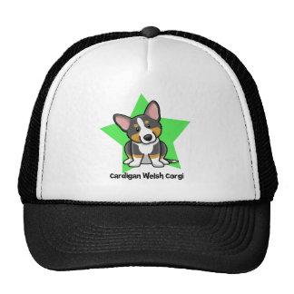 Kawaii Star Black & Tan Cardigan Welsh Corgi Hats