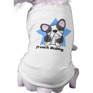 Kawaii Star BW French Bulldog Shirt