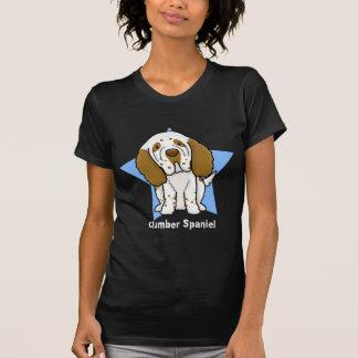 Kawaii Star Clumber Spaniel Ladies T-Shirt