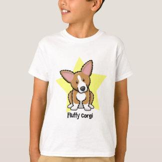 Kawaii Star Fluffy Corgi T-Shirt