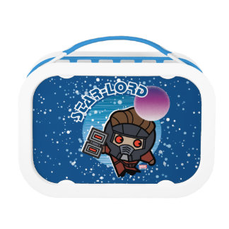Kawaii Star-Lord In Space Lunch Box