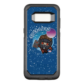 Kawaii Star-Lord In Space OtterBox Commuter Samsung Galaxy S8 Case
