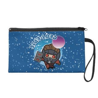 Kawaii Star-Lord In Space Wristlet