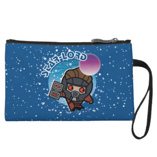 Kawaii Star-Lord In Space Wristlet