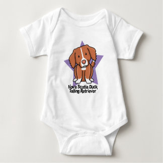 Kawaii Star Nova Scotia Duck Tolling Retriever Baby Bodysuit