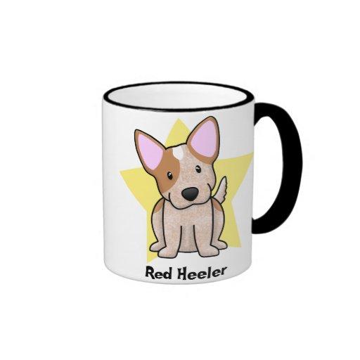 Kawaii Star Red Heeler Mug