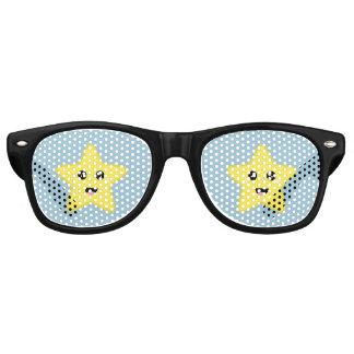 Kawaii Star Retro Sunglasses