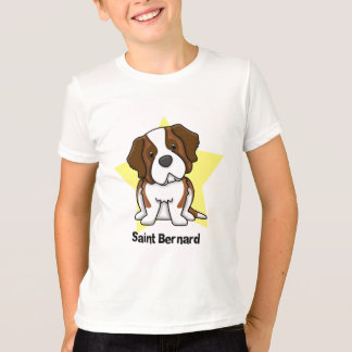 Kawaii Star Saint Bernard T-Shirt