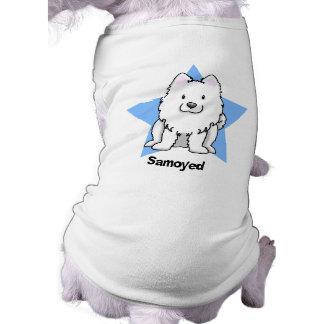 Kawaii Star Samoyed Shirt