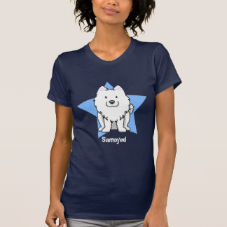 Kawaii Star Samoyed T-Shirt