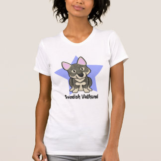 Kawaii Star Swedish Vallhund T-Shirt