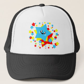 KAWAII STARS COSMIC BURST TRUCKER HAT