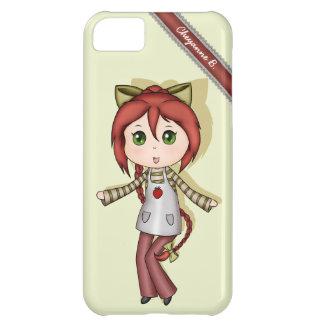 Kawaii Strawberry Chibi iPhone 5 Case
