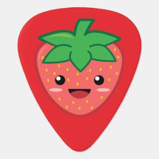Kawaii Strawberry Guitar Pick