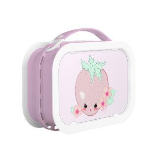 Kawaii Strawberry Lunch Box