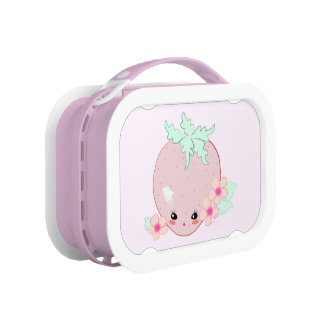 Kawaii Strawberry Lunchbox