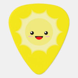 Kawaii Sun Guitar Pick