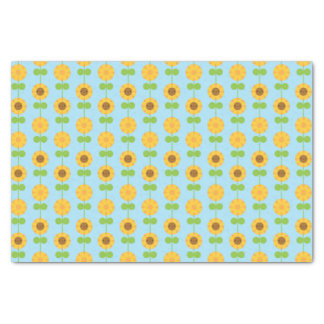 Kawaii Sunflowers Tissue Paper