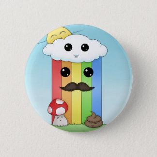 Kawaii Sunny Day 6 Cm Round Badge
