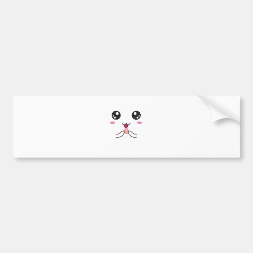 Kawaii Super Cute ^-^ Bumper Stickers