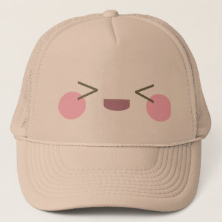 Kawaii Super Happy Face Joyful Delight Trucker Hat