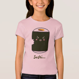 Kawaii Sushi Roll with Bitemark T-Shirt