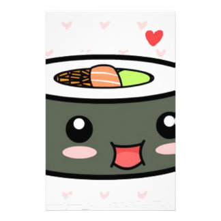 Kawaii Sushi Stationery