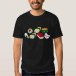 Kawaii Sushi with faces T Shirt